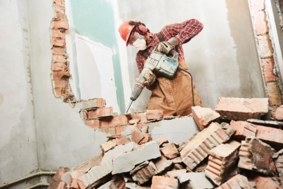 Destruction mur